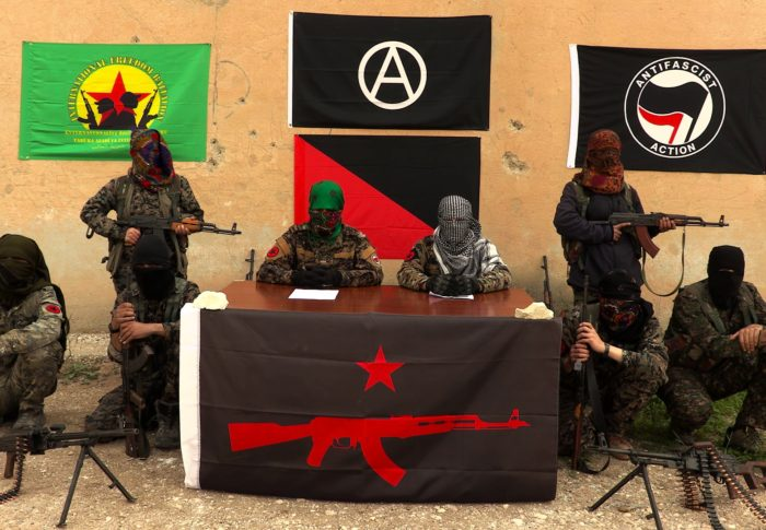 Antifa Groups Declare Solidarity with Foreign Communist Soldiers