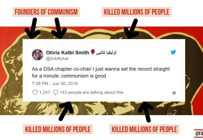 Multiple Democratic Socialists of America leaders endorse Communism