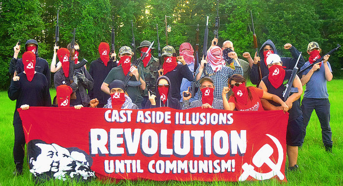 "Antifa calls for the formation of a ""Red Army"" to ""annihilate"" their enemies"