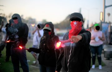 "Antifa group organizes for ""revolutionary violence against the local government"""