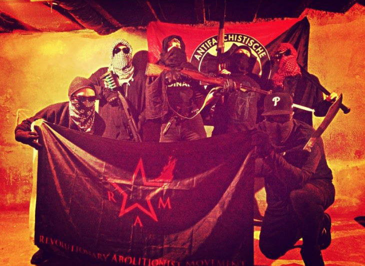 "Armed Antifa group calls for ""revolutionary resistance"" against Trump"