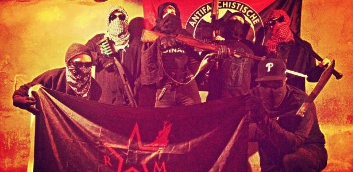 Armed antifa group celebrates terrorist who assassinated U.S. President