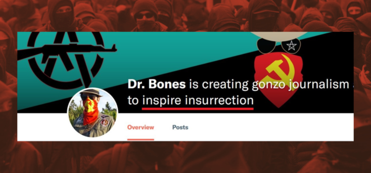 "Far-left extremists are raising money on Patreon to ""inspire insurrection""."